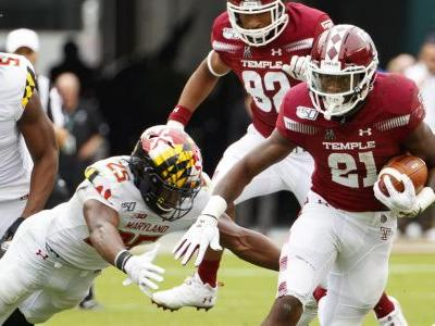 Temple's goal-line stands clutch in win over No. 21 Maryland
