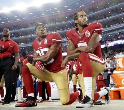 Trump suggests NFL players who kneel during anthem shouldn't be in U.S