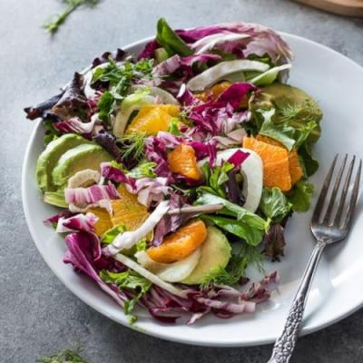 Winter Radicchio Salad