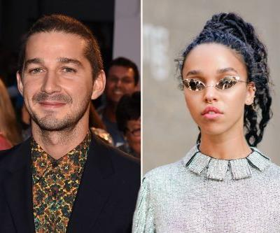Shia LaBeouf moves on from Mia Goth with pop star FKA twigs