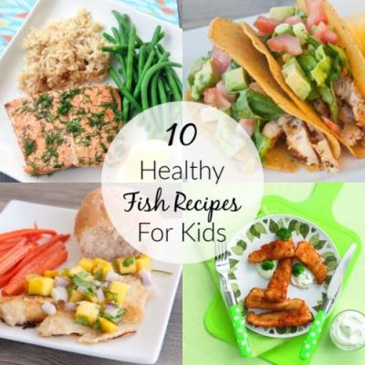 10 Healthy Fish Recipes for Kids