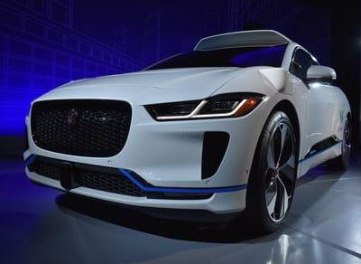 The all-electric Jaguar I-Pace is Waymo's latest self-driving car