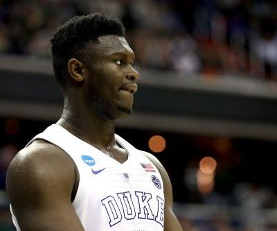 Zion Williamson suing marketing company in first pro adversity