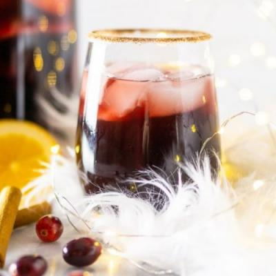 Cranberry-Apple Holiday Sangria