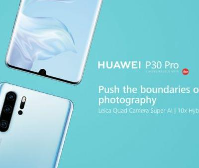 Huawei P30 Pro is shown on another hands-on video