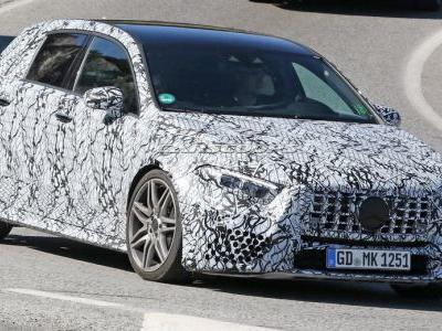 All-New Mercedes-AMG A45 Spotted, Could Hit 100km/h In Under 4 Sec
