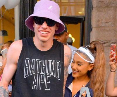 Pete Davidson picked out Ariana Grande's engagement ring the day they met