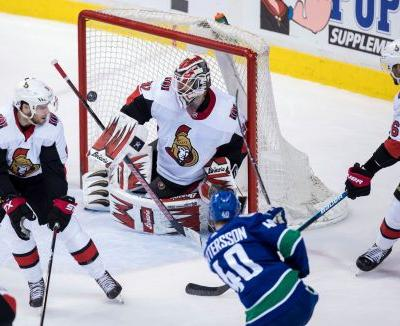 Horvat leads Canucks to 7-4 win over Senators