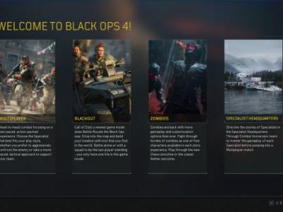 Call of Duty: Black Ops 4 guide