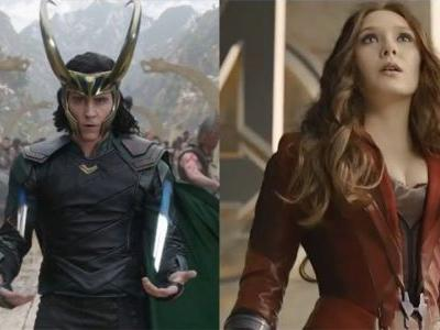 Marvel May Have Loki and Scarlet Witch Series For Disney Streaming Service