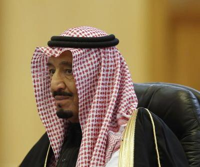 Confusion erupts after a 'small, drone-type' object was reportedly shot down near the king's palace in Saudi Arabia