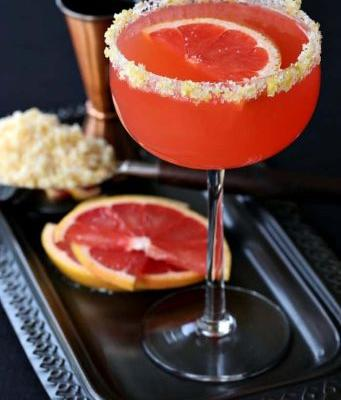 Grapefruit Bourbon Sidecar