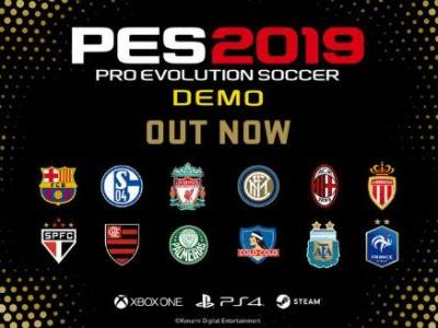PES 2019 Demo Now Available