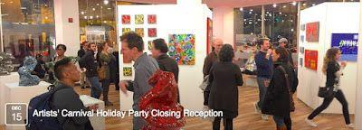 Holiday Closing Party: Crazy 8 Artists' Carnival