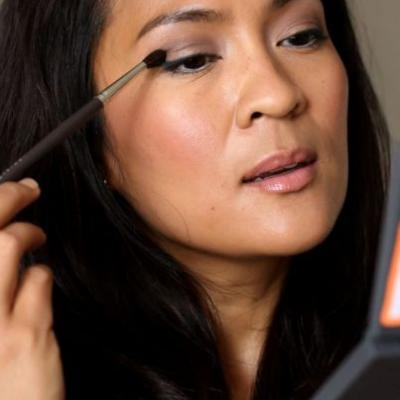 When You're Wondering About Winged Liner at 3AM (and Reviews of the PTY Beauty No BS Eyeshadow Palette, a Fab Crease Brush for Hooded Lids, and a Drugstore Beauty Staple)