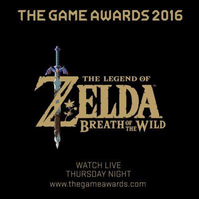 Zelda: Breath Of The Wild Will Be Featured During The Game Awards Pre-Show And Main Show