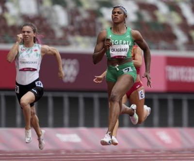 Nigerian sprinter Okagbare suspended for doping hours before Olympic run