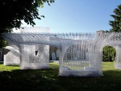 Chinese Pavilion Opens With Robot-Printed 'Cloud Village' at 2018 Venice Biennale