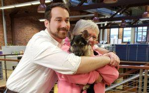 Bucket List Pup Hopes To Hug 100 People Before Passing On