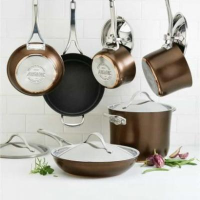 Anolon Nouvelle Copper Luxe Cookware Review & Giveaway