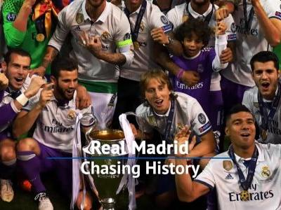 Chasing History - Real Madrid players ready for Champions League Final