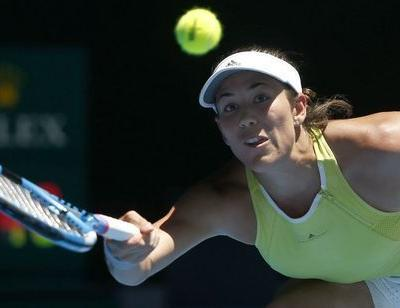 Tennis: Muguruza outfoxed by Hsieh in second-round defeat