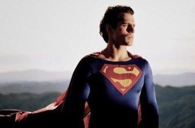 Henry Cavill Looks Amazing in Christopher Reeve's Old