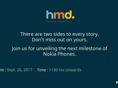 Official: Nokia 8 Will Be Announced In India On September 26