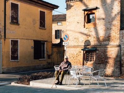 Photos show what life is like inside San Fiorano, one of the Italian towns on lockdown because of the coronavirus
