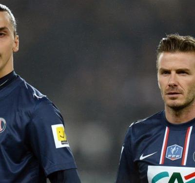 Ibrahimovic to honour bet and eat fish and chips with Beckham at Wembley