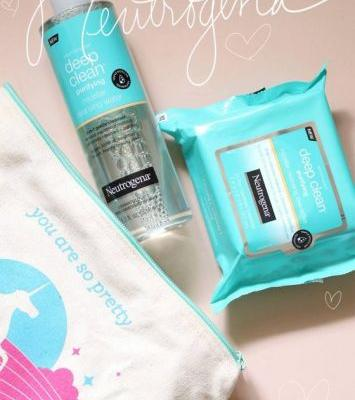 Latest Drugstore Loves! -> Neutrogena Deep Clean Purifying Micellar Cleansing Water and Micellar Cleansing Towelettes