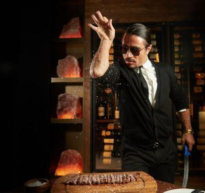 Salt Bae Proudly Feeds Venezuelan Leader $275 Steak While Venezuelans Starve
