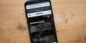Samsung Pay app teardown reveals in-display fingerprint implementation