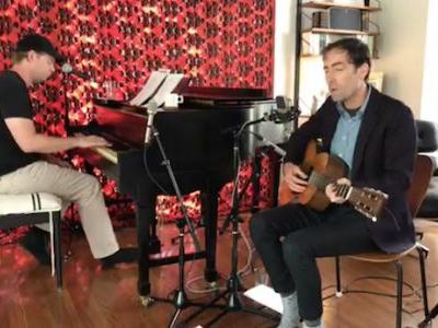 Watch Andrew Bird, Tim Heidecker Debut New Songs On Live From The Great Room