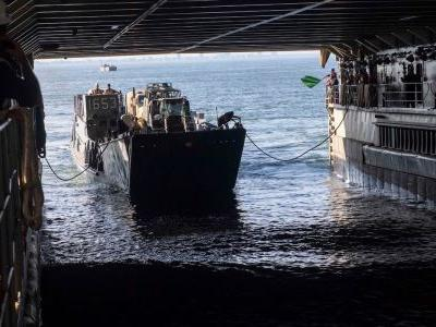 The US Navy ship that got walloped by rough seas on the way to NATO's biggest exercise in years is coming home