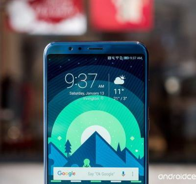 Honor View 10 update adds face unlock, January security patch, and more