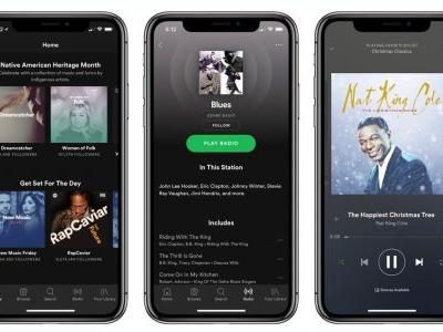 Spotify for iPhone X is now available with updated interface