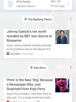 Google Testing Topic Bubbles In Google Feed UI