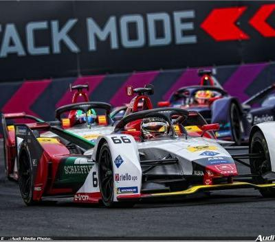 Audi driver Daniel Abt also scores points in China