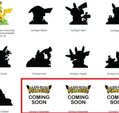 Fans think Funko's 'A Day With Pikachu' figurine lineup might include a new Pokemon from the upcoming Switch title