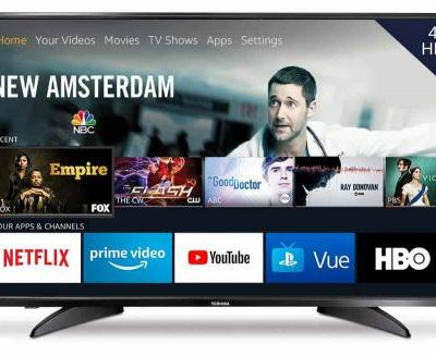 Save $80 On The Toshiba 43-inch 4K Fire TV With Dolby Vision