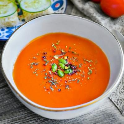Easy Roasted Red Pepper Soup