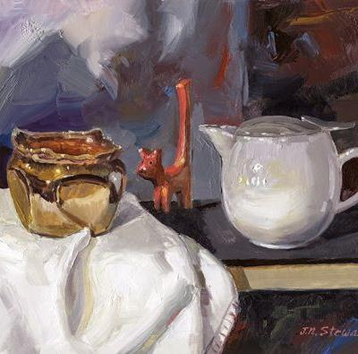 Here's another Still Life in Oil