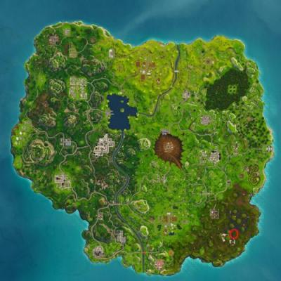 Fortnite: where to search between a Bench, Ice Cream Truck and a Helicopter