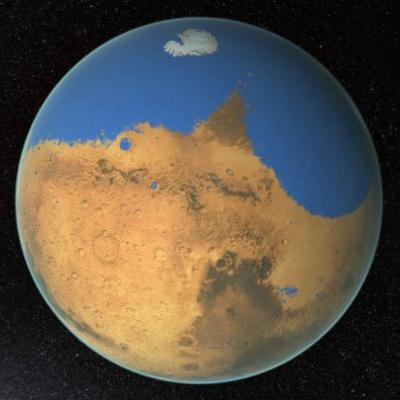 Mars May Have Escaped Life-Threatening Impacts Early On
