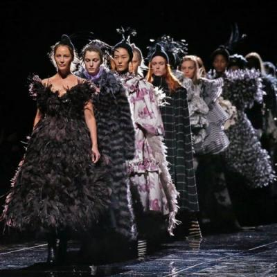 Iconic 90s supermodel Christy Turlington closed Marc Jacobs' AW19 show