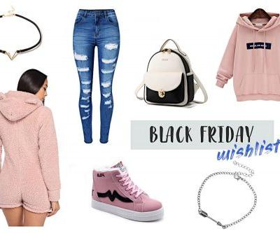 Black Friday 2018 Fashion Wishlist