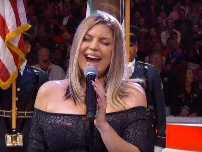 Watch Fergie's Stunningly Awful National Anthem At The NBA All-Star Game