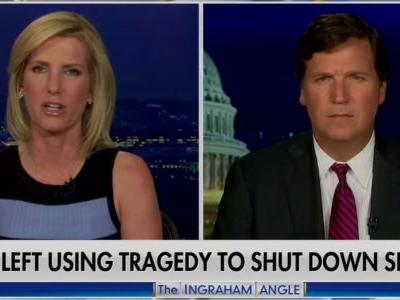 Tucker Carlson ignored white supremacist message of suspected New Zealand shooter, instead criticizing Democrats and journalists