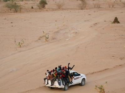 Trump wants Spain to build a wall across the Sahara desert, which is in Africa, to address the European migration crisis